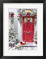 Framed Garland Door