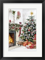 Framed Christmas Interior 2