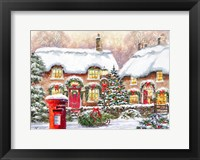 Framed Winter Cottages 2