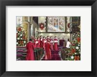 Framed Choirboys 4