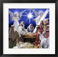 Framed Nativity 2