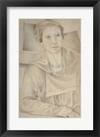 Framed Portrait of Madame Lipchitz, 1918