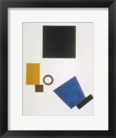 Framed Suprematism: Self-Portrait in Two Dimensions, 1915