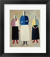 Framed Three Women, c. 1923