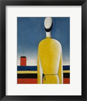 Framed Presentimento Complex (Man with yellow shirt), 1928-1932