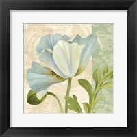 Pastel Poppies IV Framed Print