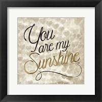 Love Life V Framed Print