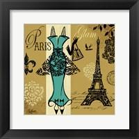 Euro Chic I Framed Print