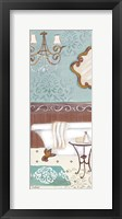 Fancy Bath Panel II Framed Print