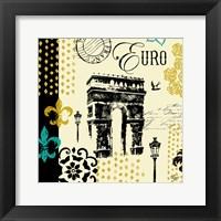 Paris Architecture I Framed Print