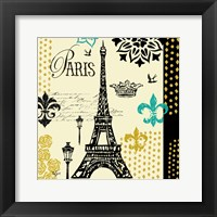 Paris Architecture II Framed Print