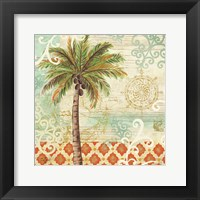 Framed Spice Palms I