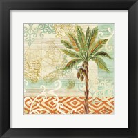 Framed Spice Palms II