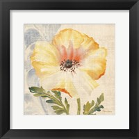 Watercolor Poppies II Framed Print
