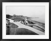 Framed Juneau Park and Lake Michigan, Milwaukee