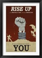 Framed Rise Up