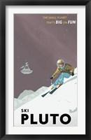 Framed Ski Pluto