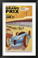 Framed Solarmobile Grand Prix