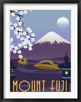 Framed Mt Fuji