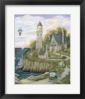 Framed Love Lighthouse