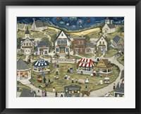 Framed Liberty Village Celebration
