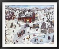Framed Kringle's Christmas Trees