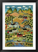 Framed Country Town