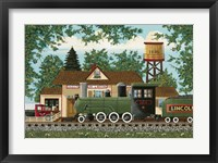 Framed Oak Landing Depot