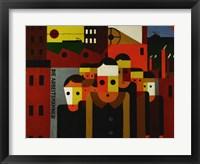 Framed Die Arbeitsmaenner - The Workmen