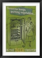 Framed Beer Crisper