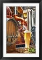 Framed Beer Distillery