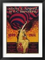 Framed Noces D'Argent Del Barcelona 1899