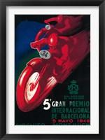 Framed 5 Gran Premio Barcelona 1946