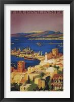 Framed Le Tourisme En Syrie Syria Ad