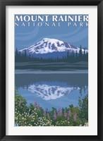 Mount Rainier National Park I Framed Print