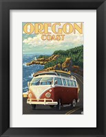 Framed Oregon Coast