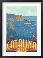Framed Catalina Island