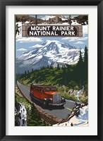 Mount Rainier National Park II Framed Print
