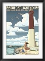 Framed Barnegat Lighthouse New Jersey