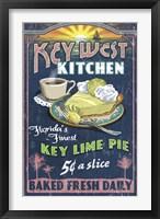 Framed Key West Kitchen Lime Pie