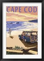 Framed Cape Cod Surf