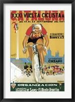 Framed Vuelta Ciclista XXXVI Cataluna Bicycle