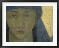 Framed Head Of A Breton Woman, 1908