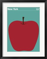 Framed Montague State Posters - New York