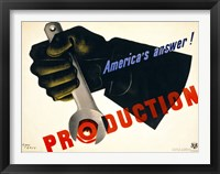 Framed Production, America's Answer!