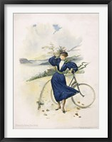 Framed Cycling, Riverside Drive, New York