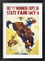 Framed Rodeo State Fair Roan