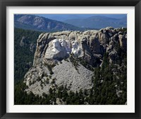 Framed Aerial View, Mount Rushmore