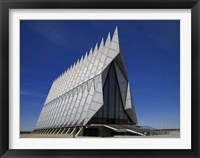 Framed Air Force Academy Chapel Coloradon Springs