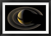 Framed Saturn On the Final Frontier